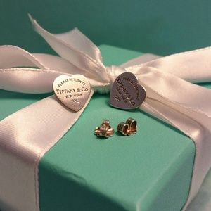 Tiffany & Co. RTT Retired Medium Earrings